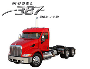 peterbilt model 387 day cab